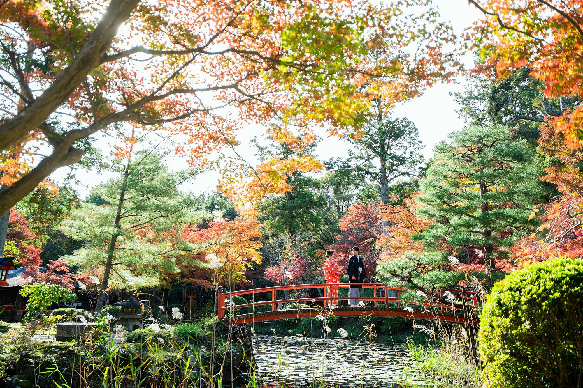 紅葉の綺麗な大原野神社