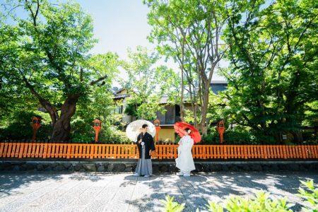 夏の祇園前撮りイメージ