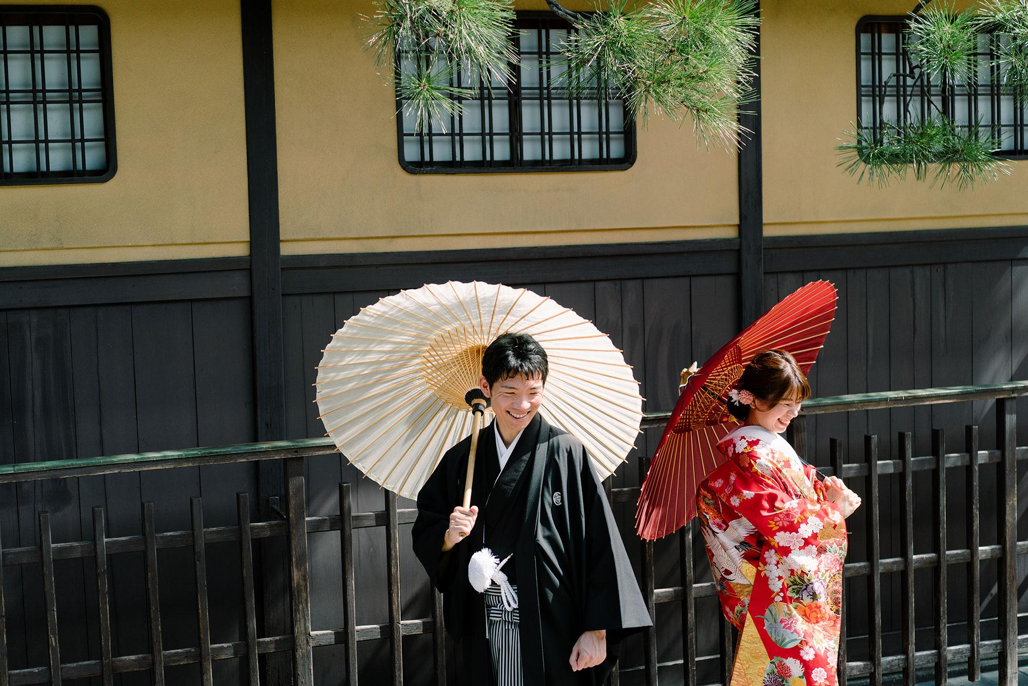 祇園新橋の和装前撮り2020年夏