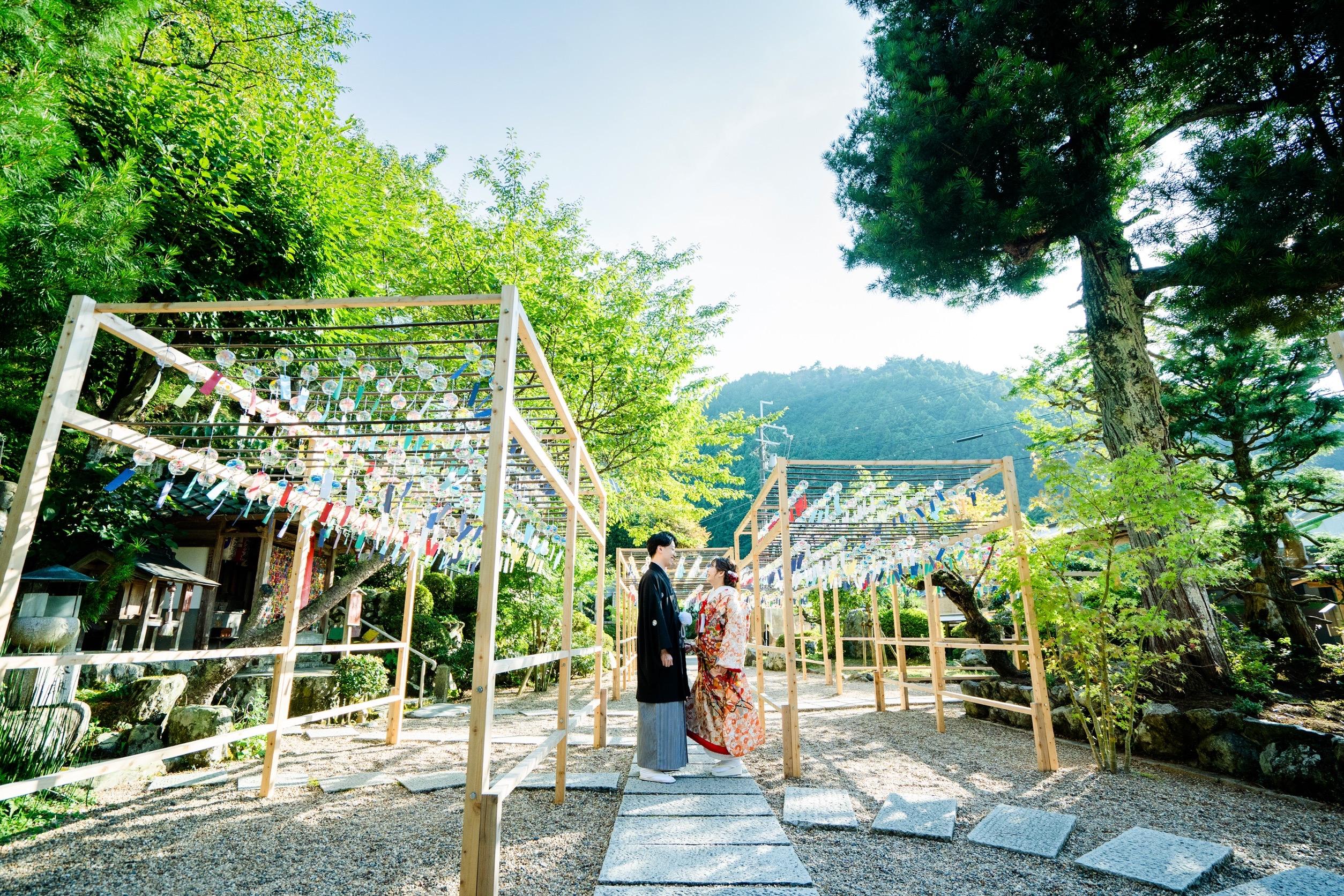 風鈴のお寺「正寿院」