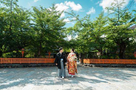 祇園でのフォトウェディングイメージ