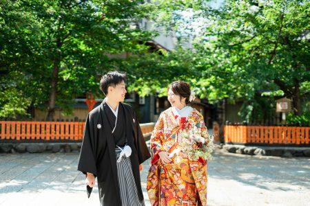 定番の祇園前撮りイメージ