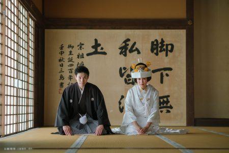 萬福寺にて和装撮影
