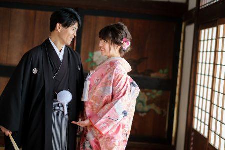 京都の隨心院で前撮り
