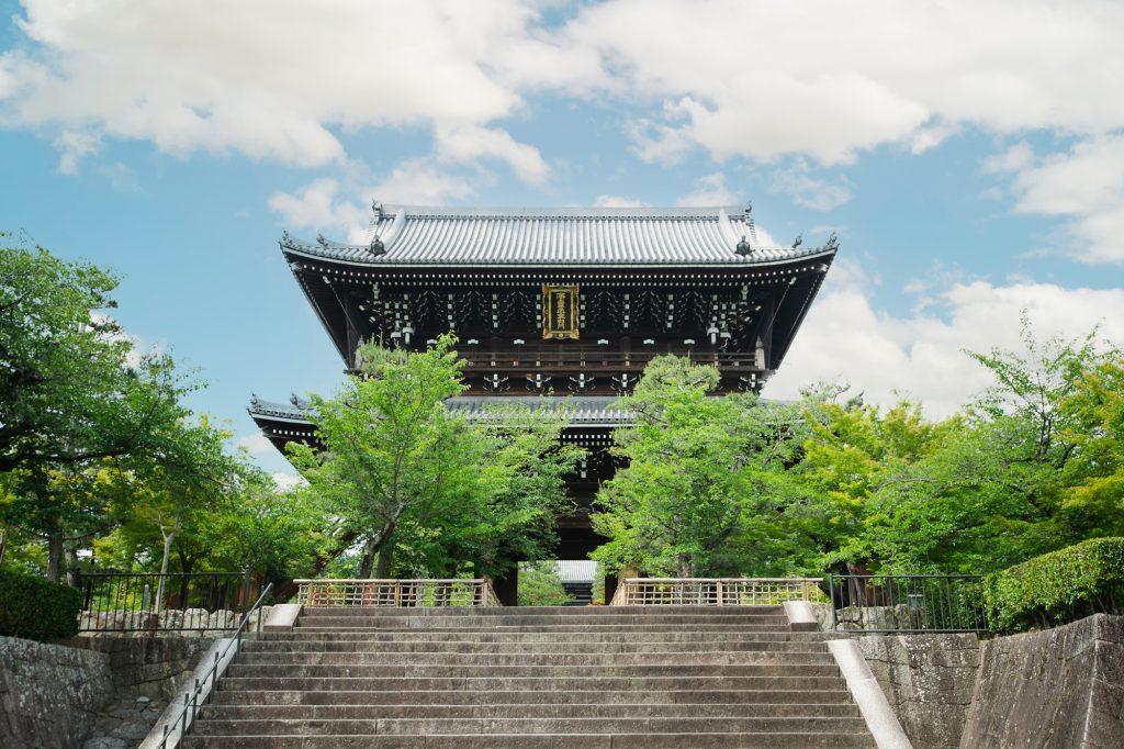 金戒光明寺の門