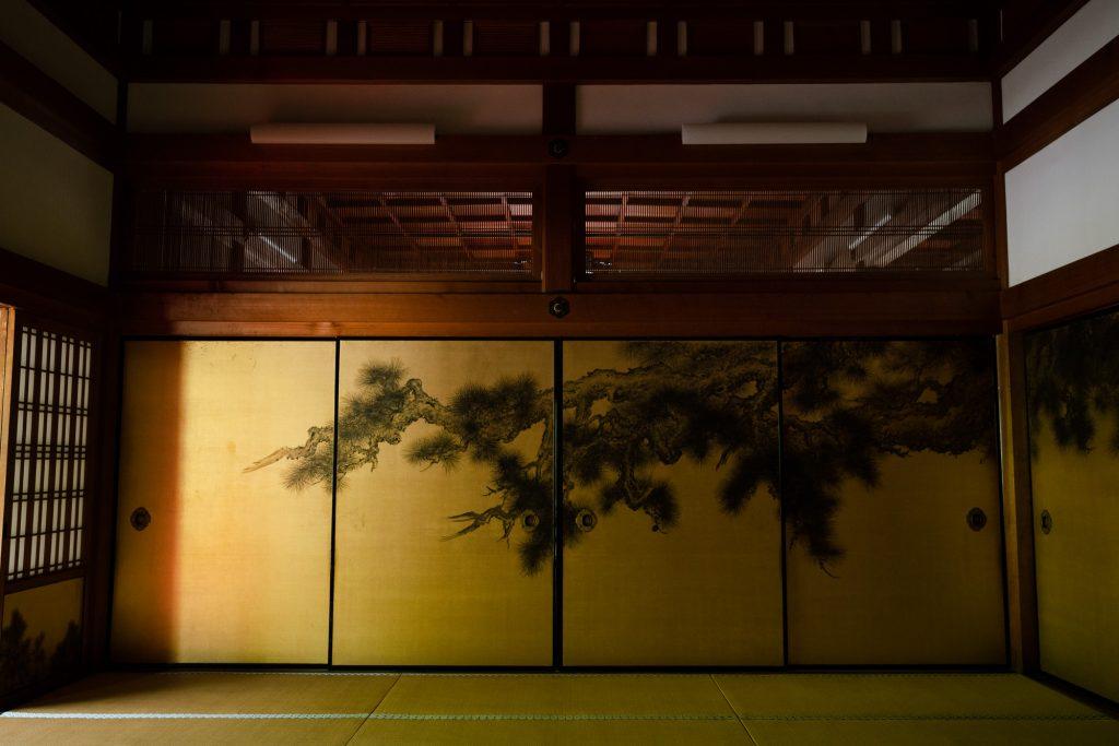 金戒光明寺の松の屏風