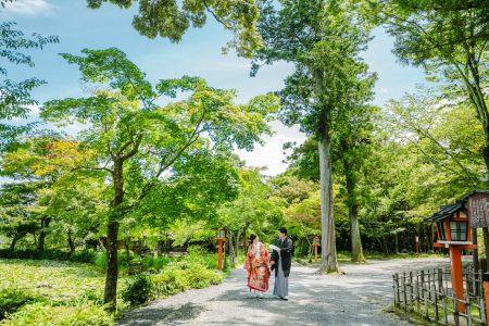 夏の京都前撮り